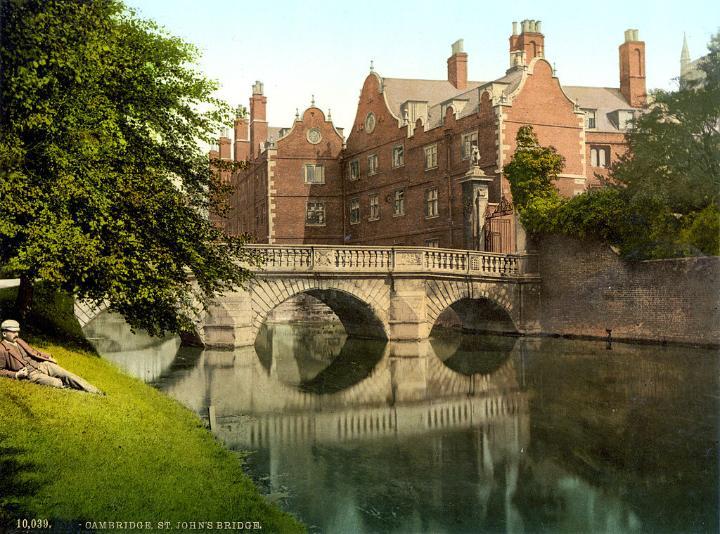 Kitchen Bridge, St. John's College, Cambridge