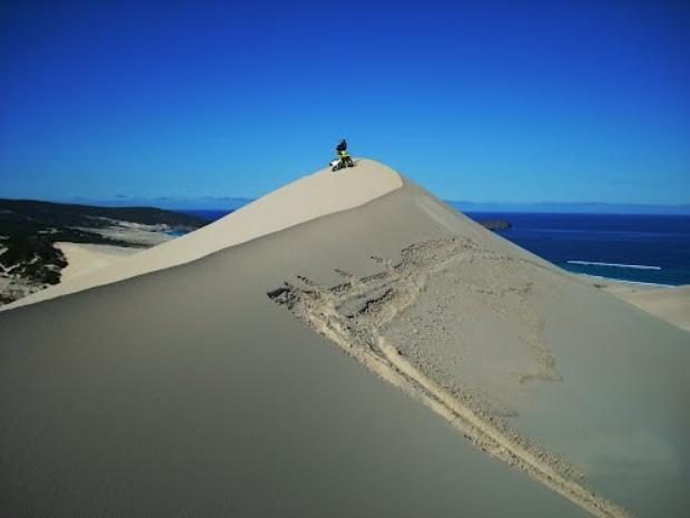 Maitlands sand dune