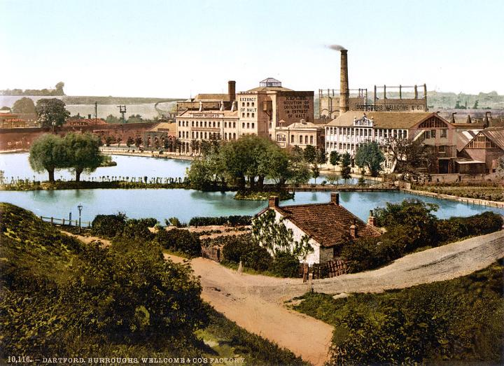Messrs. Burroughs, Wellcome & Co.'s factory, Dartford