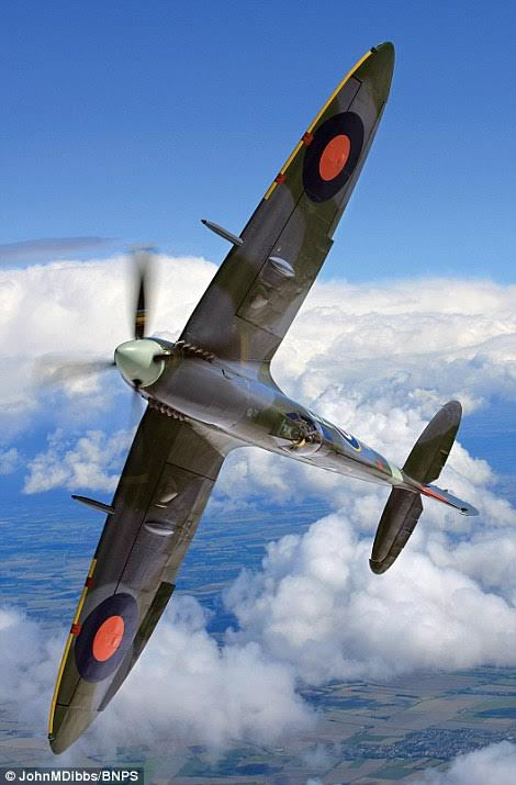 Mk IX Spitfire MH434 is one of the most famous Spitfire's still flying