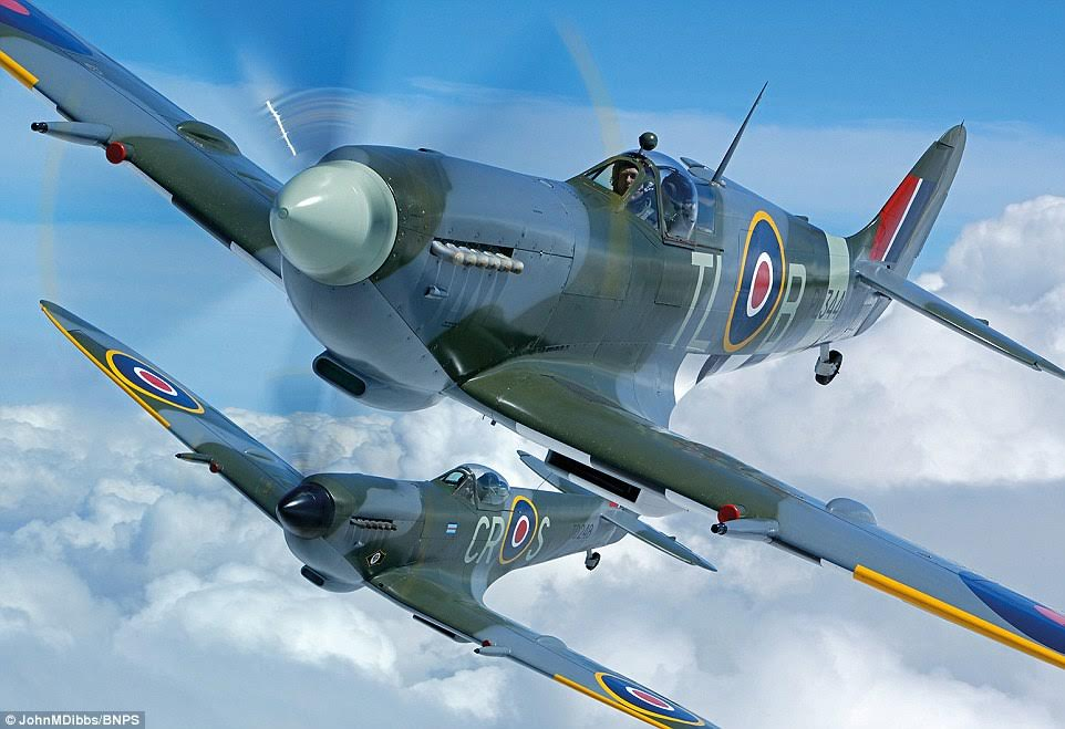 Mr Dibbs, originally from north London but now living in Seattle, WA, said his aim was to capture Spitfires that have a combat history