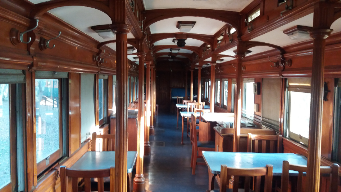 Interior of the Dining Car