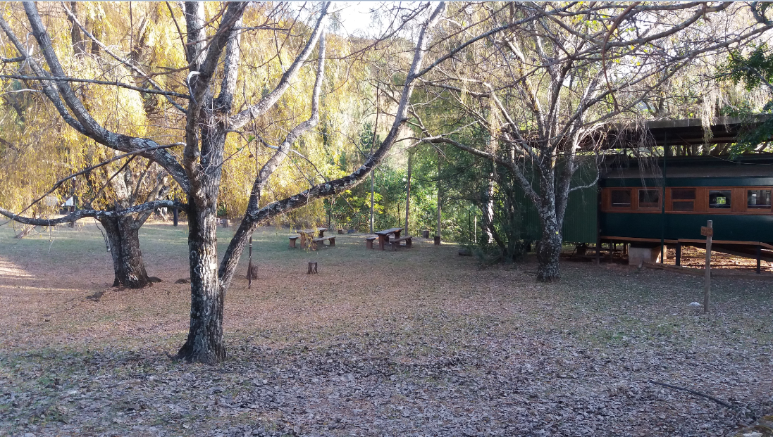 Num-Num Trail 11062016-Picnic area in its autumnal attire