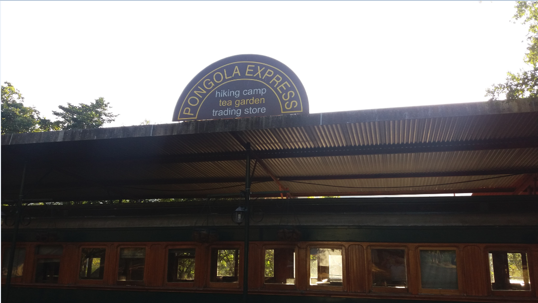 Sign on the Dining Car