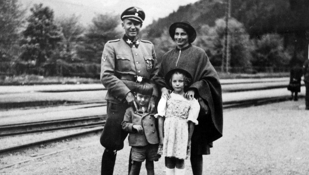Otto von Wachter with his family