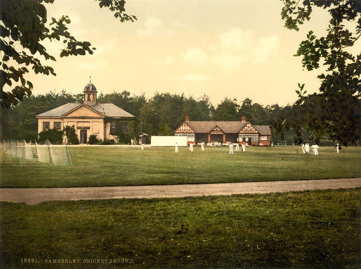 Royal Military College cricket grounds, Sandhurst, Camberley, Surrey