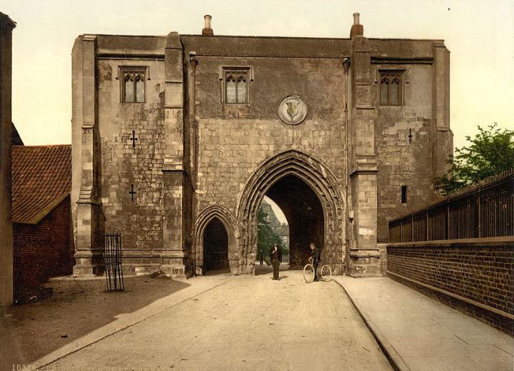 The Bayle Gate, Bridlington, Yorkshire
