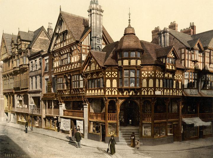 The Cross and Rows, Chester, Cheshire