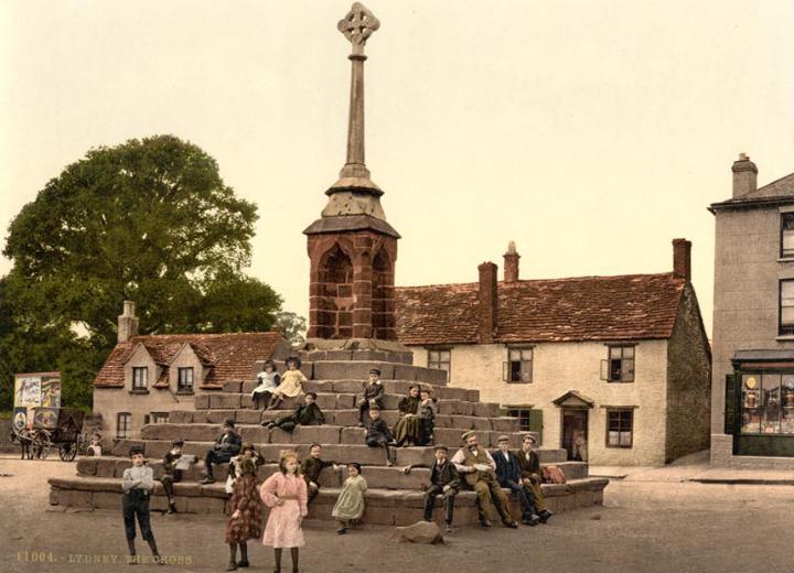 The cross, Lydney, Gloucestershire