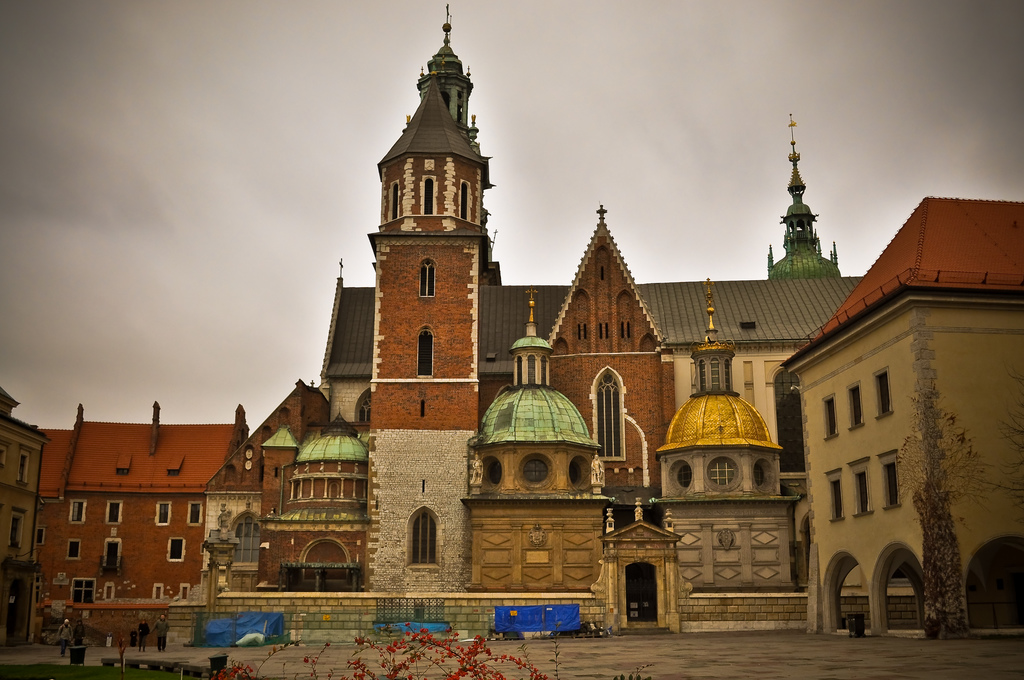 The Wawel Royal Castle in Poland, the home of the Franks during the war