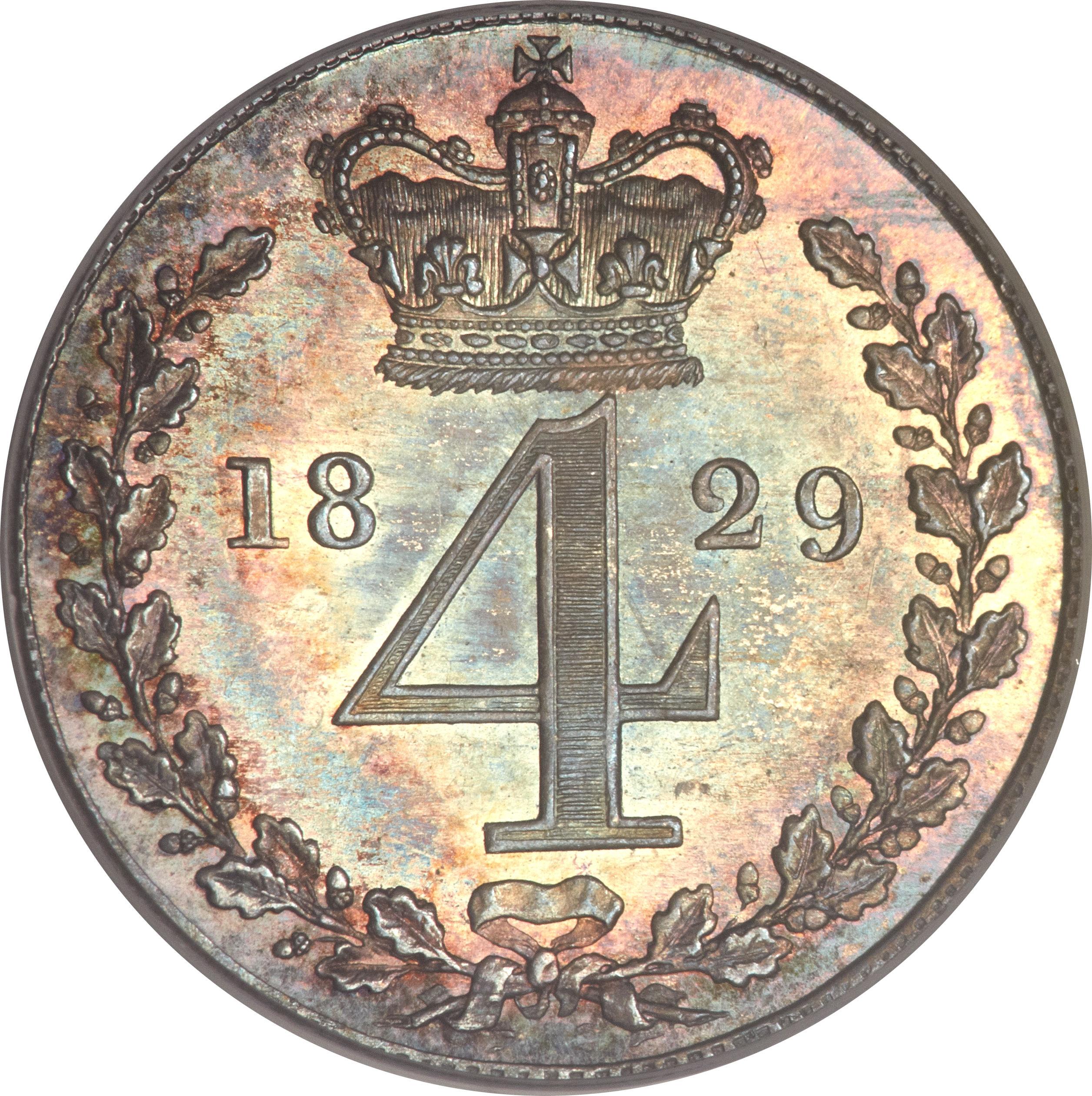 4 Pence - George IV
