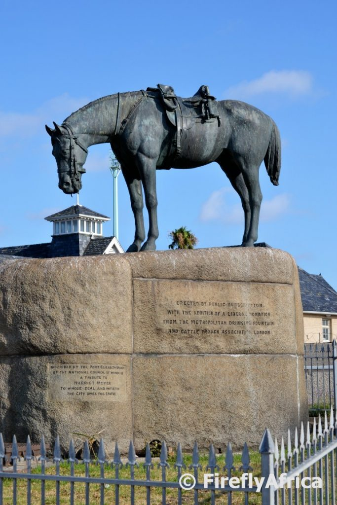 A riderless Horse Memorial