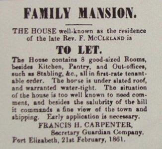 Advert-Family Mansion to Let
