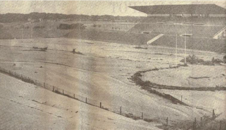 Boet Erasmus Stadium: The aftermath of the 1968 floods