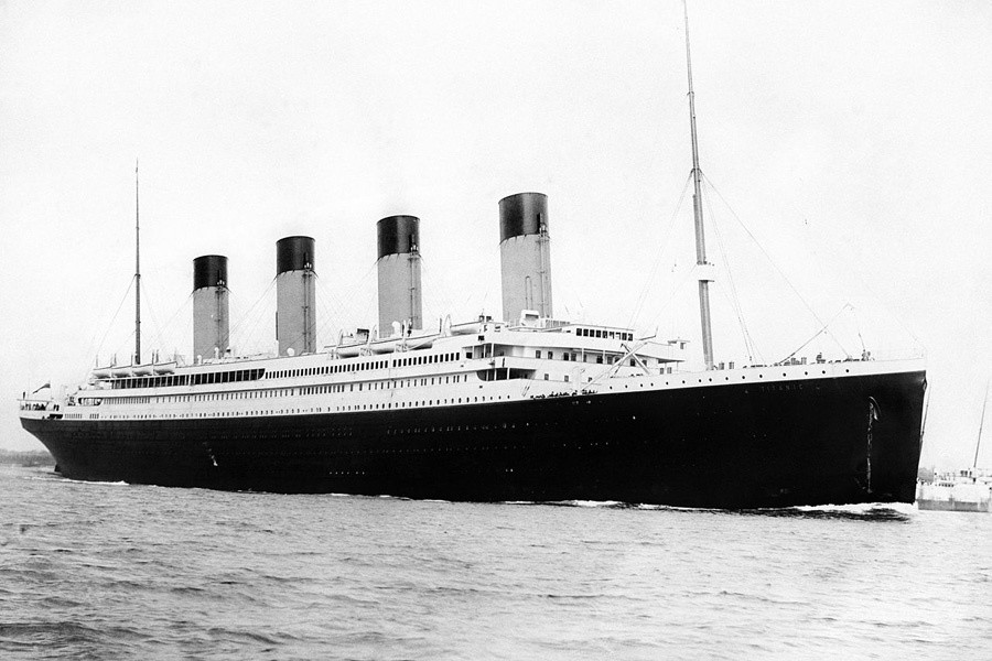 "Depending on your perspective, Violet Jessop is either the luckiest or unluckiest women to ever live. As a stewardess and a nurse, she was aboard the HMS Olympic when it collided with the HMS Hawke; she was on the HMHS Britannic when it struck a mine at sea, and she was aboard the RMS Titanic (above) when it famously hit an iceberg -- sinking the unsinkable ship. The three ships were ""sister ships"" and Jessop survived all three encounters, earning her the nickname ""Miss Unsinkable""."