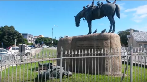 Destruction of Horse Memorial by the EFF#03