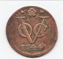 Dutch East India Company coinage