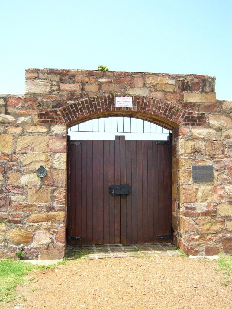 Entrance to Fort Frederick 1819