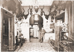 Foyer of the Grand Hotel