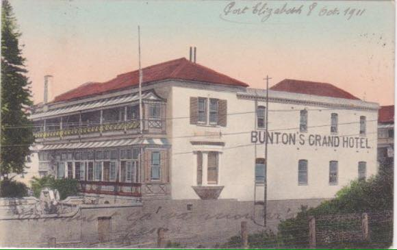 Grand Hotel formerly known as Bunton's Grand Hotel