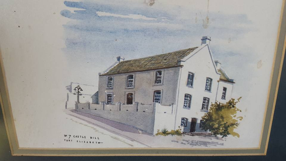 Painting of 7 Castle Hill