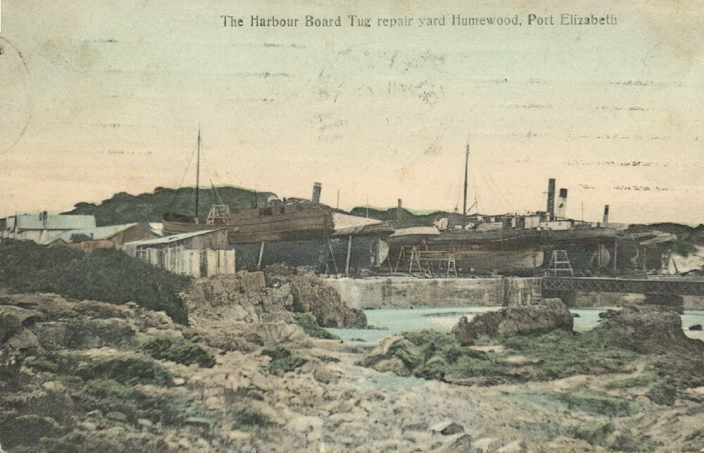 The Harbour Board Tug Repair Yard Humewood (1910s)