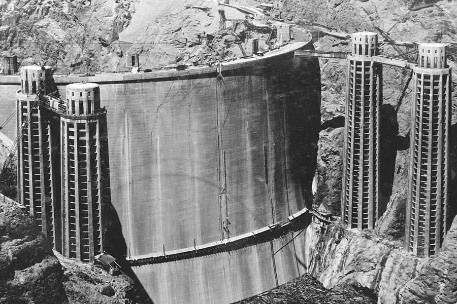 The first man to die during the building of the Hoover Dam was J.G. Tierney, on December 20, 1922. The final man to die during the project was Patrick W. Tierney, his son, in 1935 -- also on December 20.