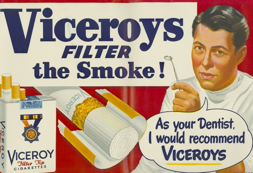 Vintage smoking adverts#01