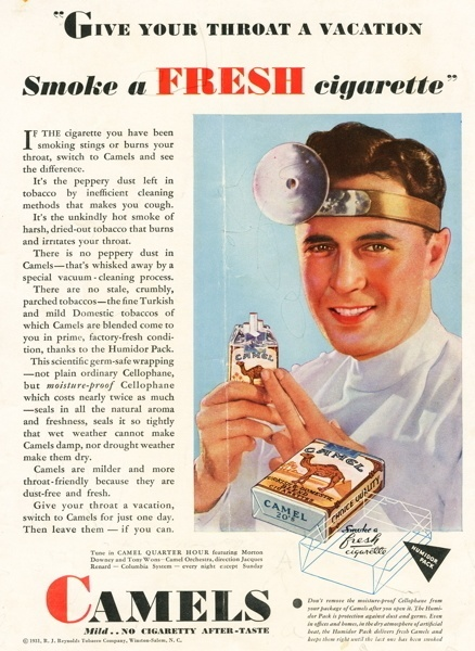 Vintage smoking adverts#02