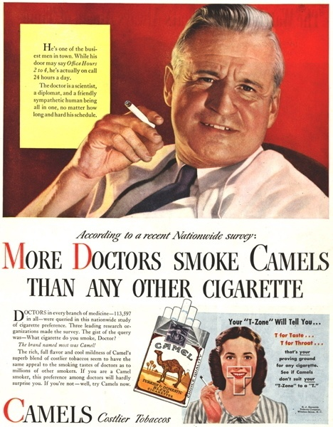 Vintage smoking adverts#05