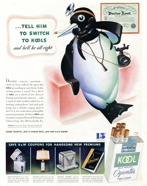 Vintage smoking adverts#07