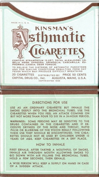 Vintage smoking adverts#11