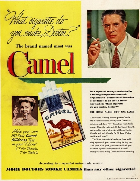 Vintage smoking adverts#16