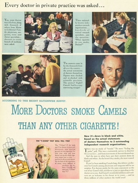 Vintage smoking adverts#18