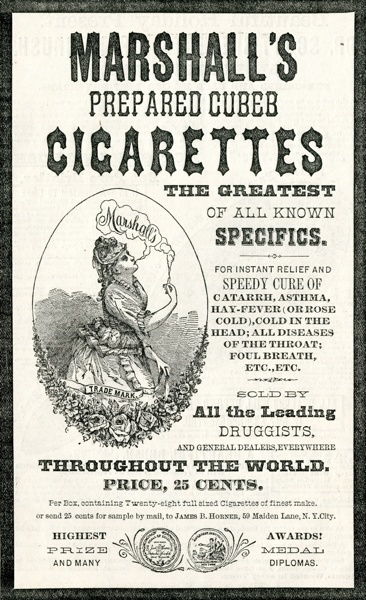 Vintage smoking adverts#19