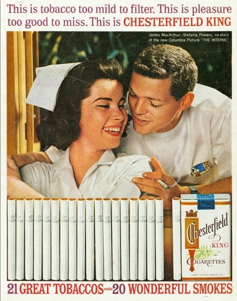 Vintage smoking adverts#20