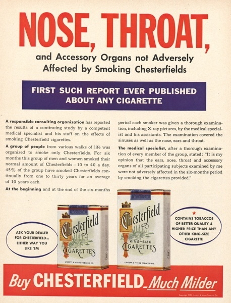 Vintage smoking adverts#21
