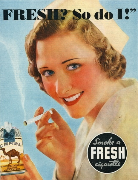 Vintage smoking adverts#22