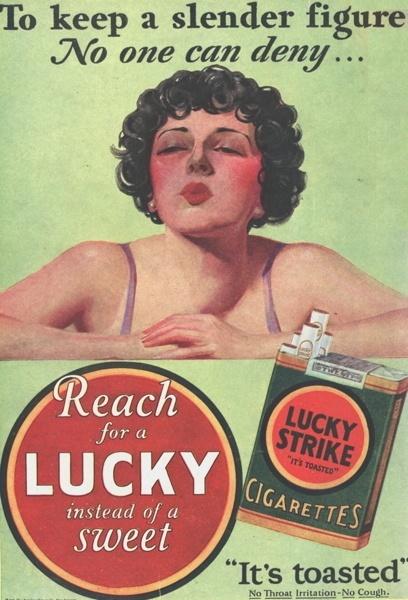 Vintage smoking adverts#24
