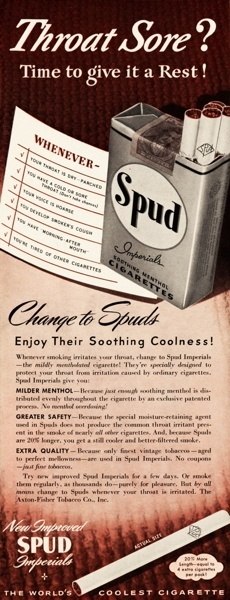 Vintage smoking adverts#25