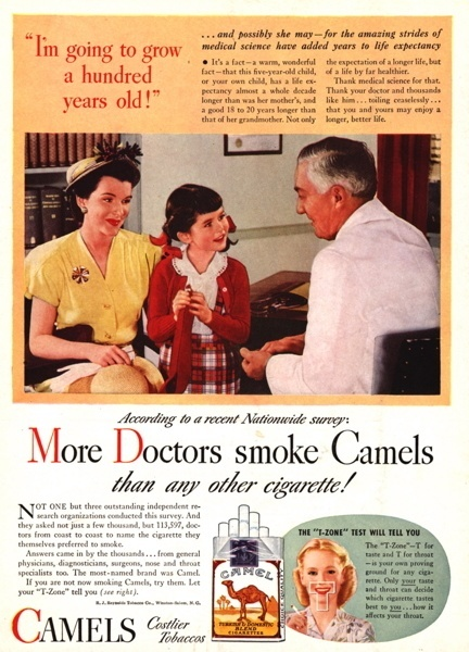Vintage smoking adverts#32