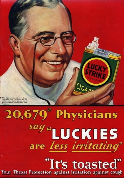 Vintage smoking adverts#33