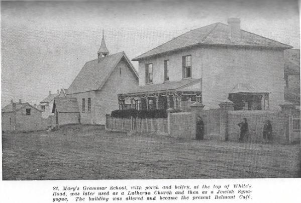 White's Road-St Mary's Grammar School
