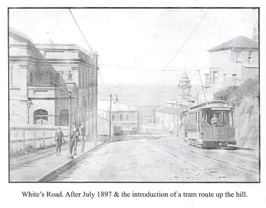White's Road after July 1897