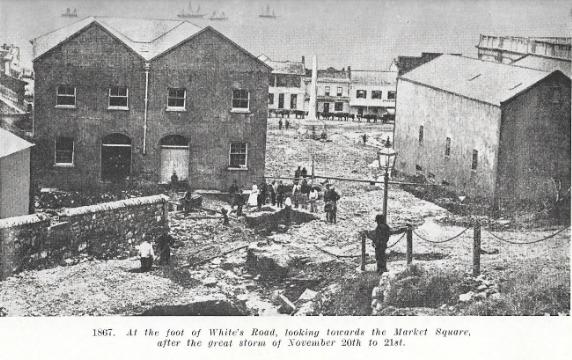 White's Road in 1867