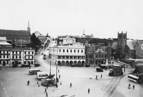 Another view of White's Road in 1921