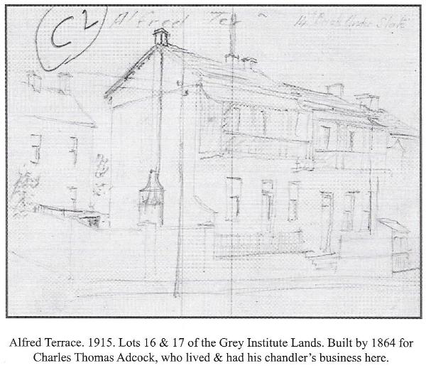 Alfred Terrace in 1915