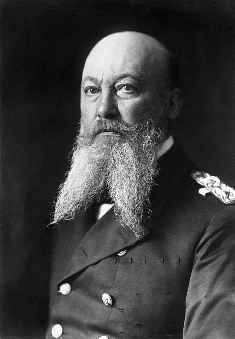 Alfred von Tirpitz in 1903