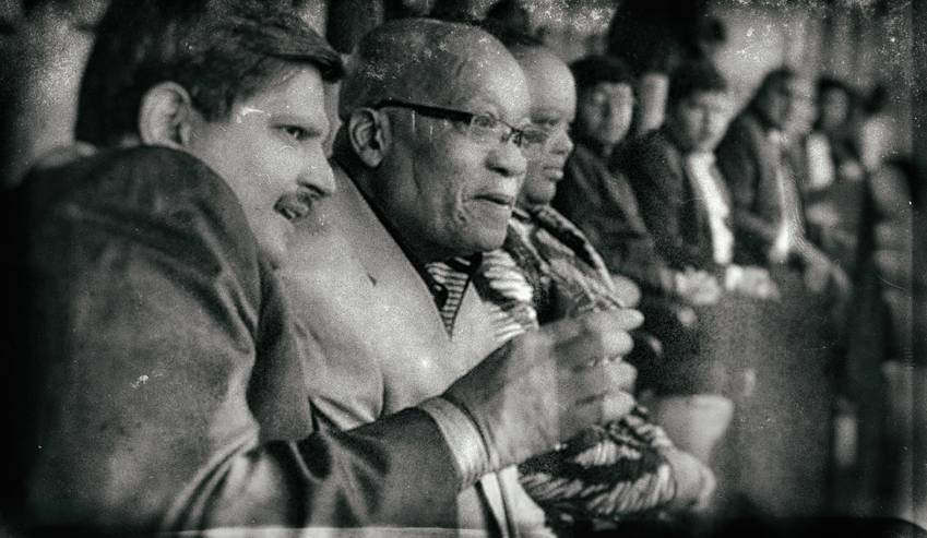 Atul Gupta with Jacob Zuma