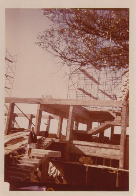 Centenary Methodist under Construction